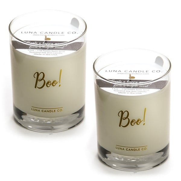 Toasted S'mores Premium Candle, Natural Soy Wax, Long Burn (2 Pack)