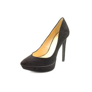 Jessica Simpson Venisse Women Open Toe Synthetic Black Platform Heel