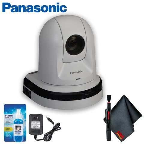 Panasonic PTZ Camera with HDMI Output (White) Accessory Kit - Includes + More!