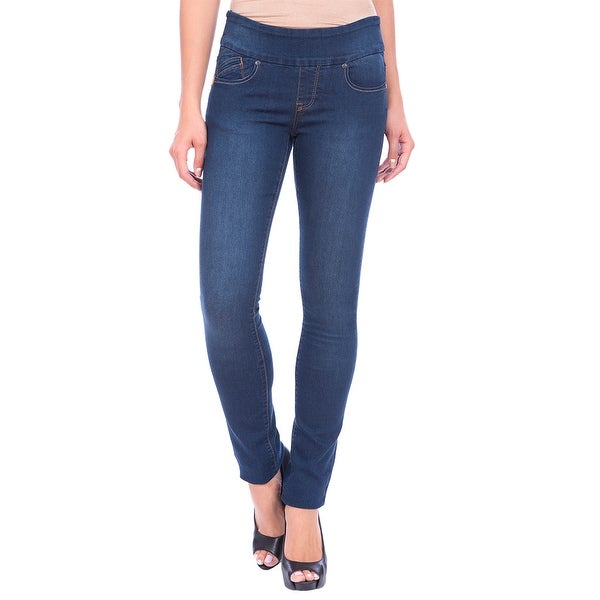 Lola Pull On Straight Jeans, Catherine-MSB