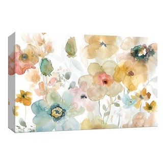 """PTM Images 9-148328  PTM Canvas Collection 8"""" x 10"""" - """"Soft Spring I"""" Giclee Flowers Art Print on Canvas"""