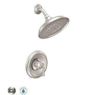 Moen 82968 Single Handle Posi-Temp Pressure Balanced Shower Trim with Rain Shower Head from the Telford Collection (Valve