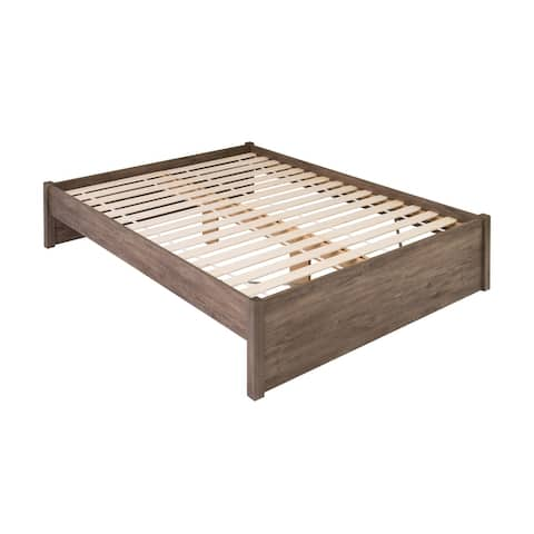 Prepac Queen Select 4-Post Platform Bed with Optional Drawers
