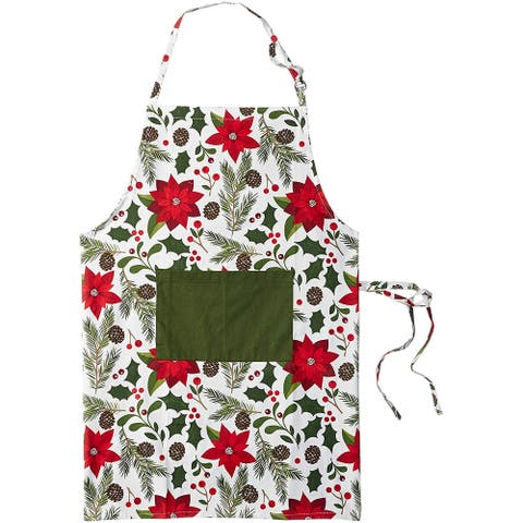 100% Cotton Christmas Chef Apron Everday Kitchen