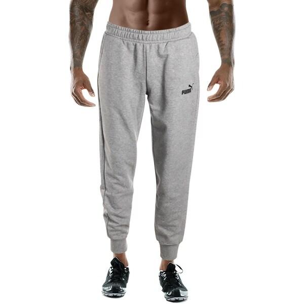 0dcfb570d8 Shop Puma Mens Essentials Fleece Pants Sweatpants Lounge Jogger ...