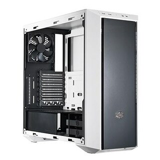 Masterbox 5 Black & White Mid-Tower Computer Case With Internal Configuration, Atx, Micro Atx, Mini Itx Support, And Nin