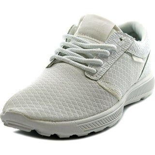 Supra Hammer Run Round Toe Leather Running Shoe