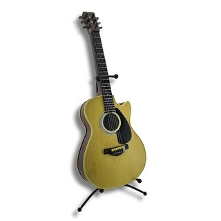 Classic Acoustic Guitar Coin Bank with Stand
