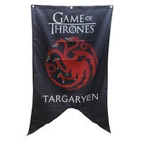 "Game of Thrones House Targaryen 30"" x 50"" Fabric Banner - Multi"