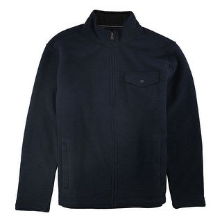Link to Weatherproof Mens Fleece Lined Jacket, blue, Large Similar Items in Men's Outerwear