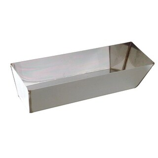 "Hyde 09012 Joint Compound Mud Pan, 12"", Stainless Steel"