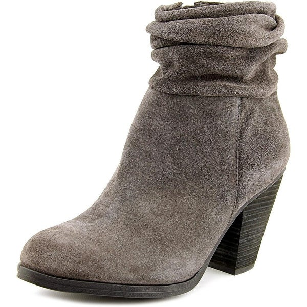 Vince Camuto Suede Round-Toe Ankle Boots release dates for sale DbZY5f