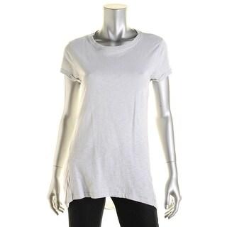 [BLANKNYC] Womens Cotton Slub T-Shirt - S