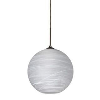 "Besa Lighting 1JT-COCO1060-LED Coco Single Light 9-7/8"" Wide LED Mini Pendant"