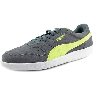 Puma Icra Trainer Sd Round Toe Suede Sneakers