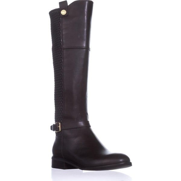 Cole Haan Galina Boot Riding Boots, Java Leather - 5 us