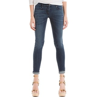 Max Studio Womens Skinny Jeans Dark Wash Mid-Rise (More options available)