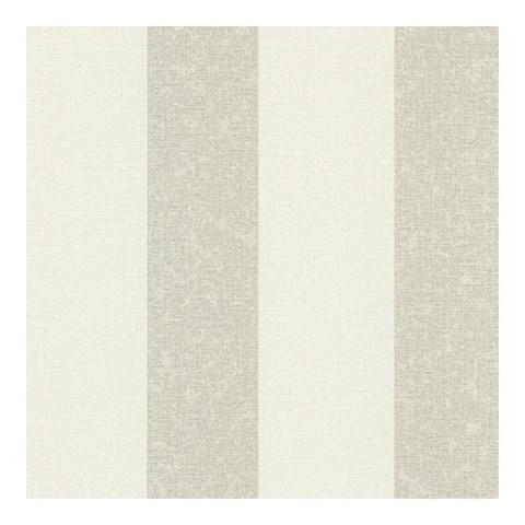 Dash Beige Linen Stripe Wallpaper - 20.5 x 396 x 0.025