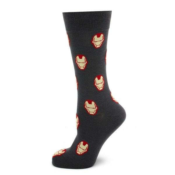 Iron Man Gray Socks