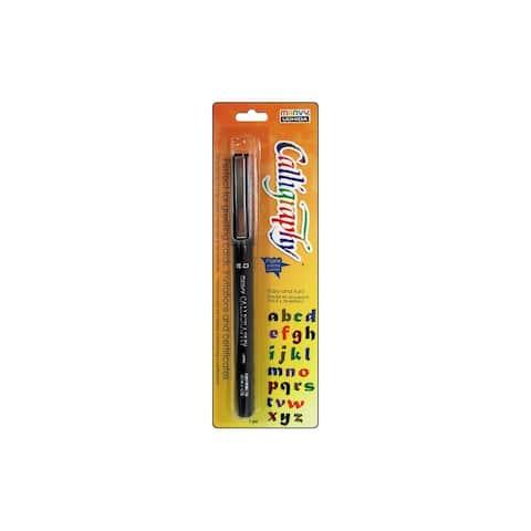 Uchida Calligraphy Marker 5.0mm Card Black