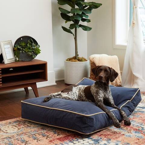Happy Hounds Busby Denim Blue Dog Bed