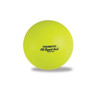 "8.5"" All Sport Yellow Ball Swimming Pool Accessory"