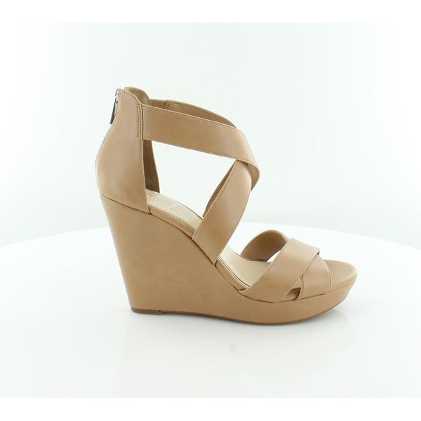 Jessica Simpson Jadyn Women's Sandals & Flip Flops Buff - 9