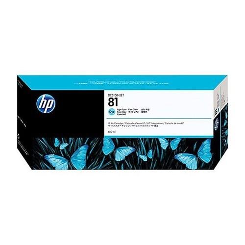 HP 81 680-ml Yellow DesignJet Dye Ink Cartridge (C4933A) (Single Pack)
