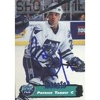 Patrice Tardif Worcester Icecats 1995 Collectors Edge Ice Autographed Card Rookie Card This item