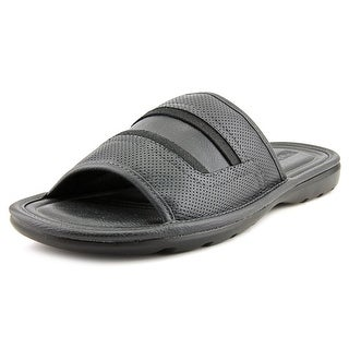 Kenneth Cole Reaction Wind-y Sea Open Toe Leather Slides Sandal