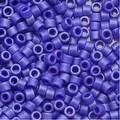 Miyuki Delica Seed Beads 11/0 Matte Sapphire Metallic Blue DB361 7.2 Grams - Thumbnail 0