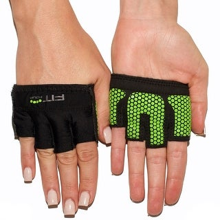 Fit Four The Gripper Fitness Weight Lifting Gloves - Neon Green - Neon Green
