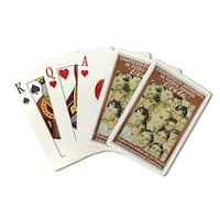 Evita (Manteola) Argentina - Vintage Ad (Poker Playing Cards Deck)
