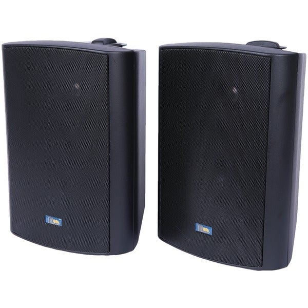 Tic Corporation Asp120B Indoor/Outdoor 120-Watt Speakers With 70-Volt Switching (Black)