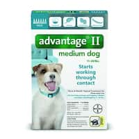 Advantage II for Dogs 11-20 Lbs. 6 Pack