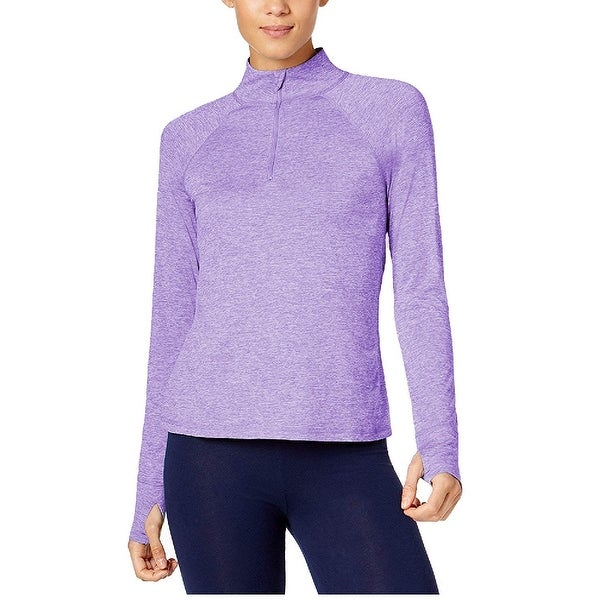af502bf47 Shop Ideology Women's Essential Fitness Running 1/4 Zip Pullover ...