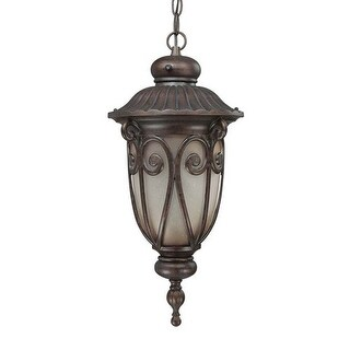 Nuvo Lighting 60/3928 Single Light Down Lighting Outdoor Pendant from the Corniche Collection