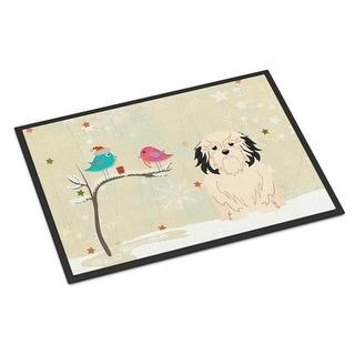 Carolines Treasures BB2491JMAT Christmas Presents Between Friends Lowchen Indoor or Outdoor Mat 24 x 0.25 x 36 in.