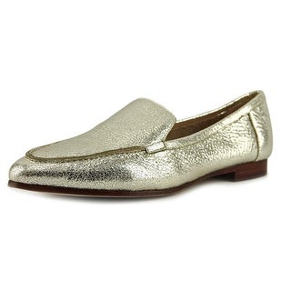 Kate Spade Carima Women Pointed Toe Leather Gold Flats