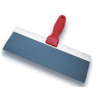 "Marshalltown BSTK10P Pro-Style Blue Steel Taping Knife, 10"" x 3"""