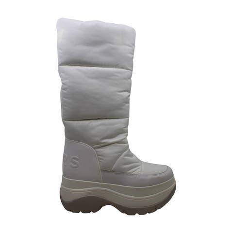 Michael Michael Kors Women's Shoes Gamma Bootie Fur Almond Toe Mid-Calf Cold ...