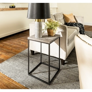 Link to Carbon Loft Geller Square Modern Side Table Similar Items in Living Room Furniture