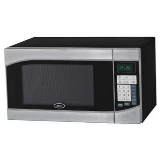 Oster OGH6901 0.9 Cubic Feet Digital Microwave Oven - stainless/black