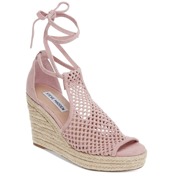 Steve Madden Womens Bambino Fabric Open Toe Special Occasion Espadrille Sandals. Opens flyout.