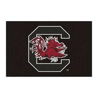 NCAA University of South Carolina Gamecocks Starter Mat Rectangular Area Rug