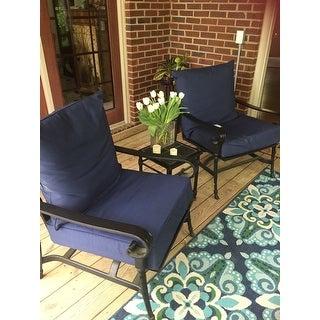 Havenside Home Lewisburg Medallion Indoor/ Outdoor Area Rug