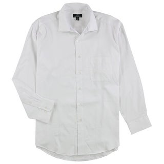"""Link to Alfani Mens Stripe Button Up Dress Shirt, white, 16""""-16.5"""" Neck 32""""-33"""" Sleeve Similar Items in Shirts"""