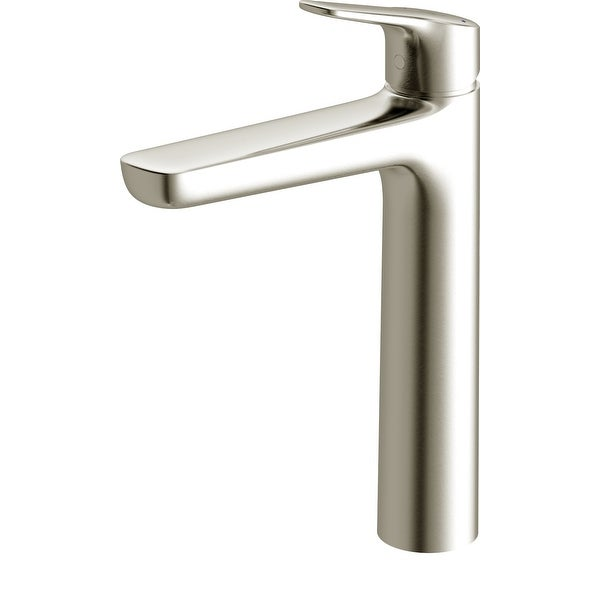 Toto TLG03303U 1.2 GPM Single Handle Deck Mounted Semi-Vessel Bathroom Faucet with Comfort Glide Technology with Drain Assembly