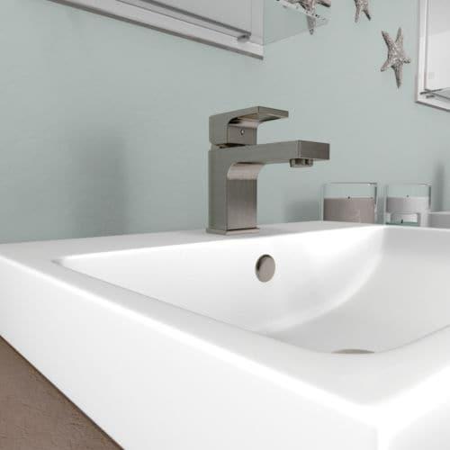 Bathroom Faucets Lifetime Warranty miseno ml600 florence single hole bathroom faucet - includes