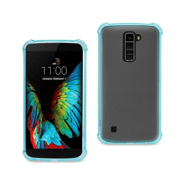 For LG K10 Electroplating Mirror Push Pull PC Protective Case Back Source · Reiko Lg K10